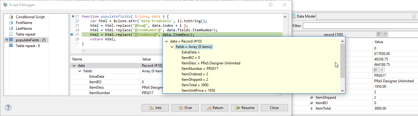 Troubleshoot your User Scripts with the Script Debugger - OL™ Learn